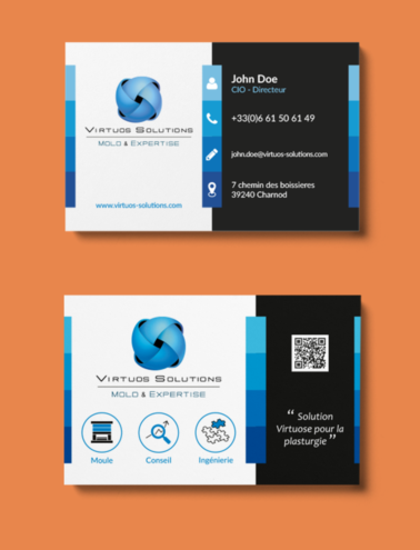 business cards virtuos 378x495 Virtuos Solutions