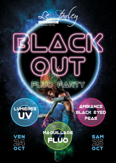 flyer soiree fluo color blackout 378x529 Flyers