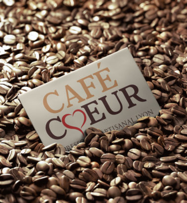 grains coffee coeur business card 378x410 Café coeur